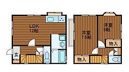 [一戸建] 東京都町田市金森2丁目 の賃貸【/】の間取り
