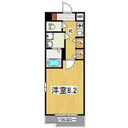サムティ京都御池[10階]の間取り