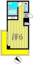 メゾンSK7[2B号室]の間取り