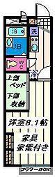 埼玉県草加市瀬崎6丁目の賃貸アパートの間取り