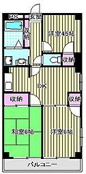 リーゼンハイム[2階]の間取り