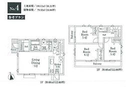 4号地建物参考プラン