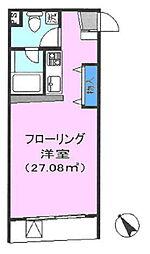 埼玉県鶴ヶ島市大字上広谷の賃貸マンションの間取り