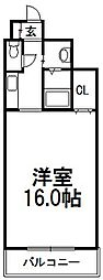 北海道札幌市手稲区手稲本町一条3丁目の賃貸マンションの間取り