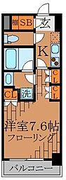 ガリシア高円寺[6階]の間取り