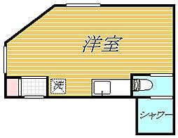 東京都江東区大島7丁目の賃貸アパートの間取り