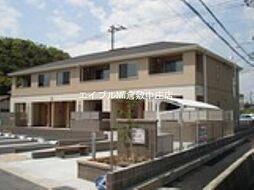 岡山県倉敷市連島町連島の賃貸アパートの外観