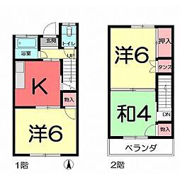 [テラスハウス] 埼玉県さいたま市北区別所町 の賃貸【/】の間取り