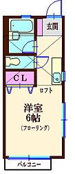 エクセレント神大寺[2階]の間取り