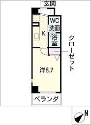 セピアコート[3階]の間取り