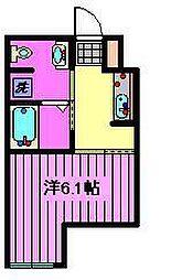 埼玉県さいたま市浦和区岸町2丁目の賃貸アパートの間取り