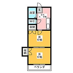 Dear Dream S[1階]の間取り