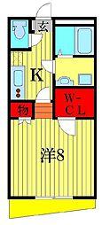 (仮称)明原3丁目計画[2階]の間取り