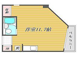 川口ビル[2階]の間取り