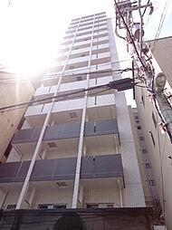 大阪府大阪市天王寺区上汐4丁目の賃貸マンションの外観
