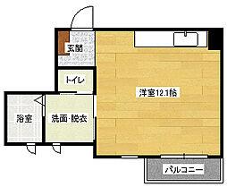 広島県広島市南区段原1丁目の賃貸アパートの間取り