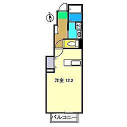 シングルカレント[1階]の間取り