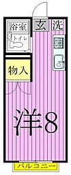 東京都足立区西新井栄町3丁目の賃貸アパートの間取り