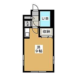 ライオンズマンション京都西洞院[2階]の間取り