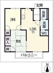 イングB[2階]の間取り