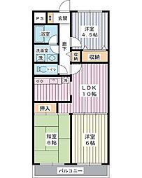 ストークマンションダイゴ2[3階]の間取り