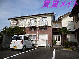 三重県伊勢市久世戸町の賃貸アパートの外観
