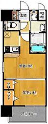 福岡県福岡市南区大橋3丁目の賃貸マンションの間取り