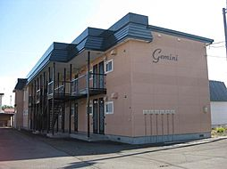 北海道滝川市西町2丁目の賃貸アパートの外観