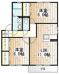 サンモール町田I[2階]の間取り