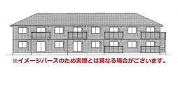 長崎県諫早市真崎町の賃貸アパートの外観