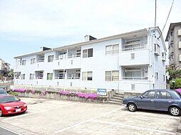愛知県長久手市蟹原の賃貸アパートの外観