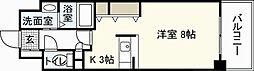 セレッソイシダ[5階]の間取り