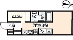 プリマヴェーラ大竹[1階]の間取り