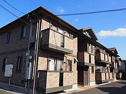 山口県宇部市宮地町の賃貸アパートの外観