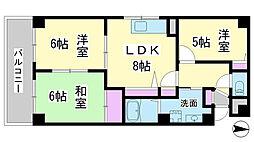 兵庫県神戸市垂水区大町1丁目の賃貸マンションの間取り