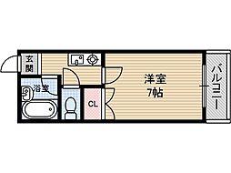 宮元12番館[2階]の間取り