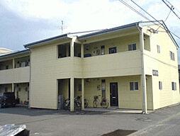 長野県飯田市上郷飯沼の賃貸アパートの外観