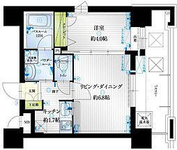 アクタス薬院III[11階]の間取り