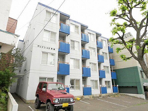 北海道札幌市豊平区平岸一条2丁目の賃貸マンション