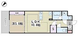 パークキューブ西ヶ原ステージ[426号室]の間取り