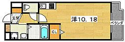 プログレNアルファ[3階]の間取り