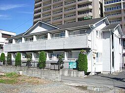 埼玉県久喜市久喜中央2丁目の賃貸アパートの外観