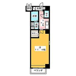 K Azur[8階]の間取り