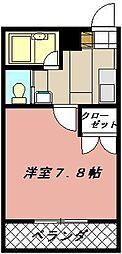 ヨークス本城[306号室]の間取り