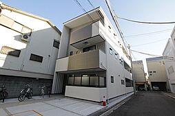 兵庫県西宮市川東町の賃貸アパートの外観