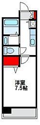 福岡県福津市中央3丁目の賃貸マンションの間取り