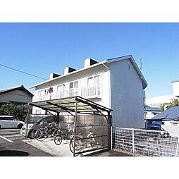静岡県静岡市駿河区聖一色の賃貸アパートの外観