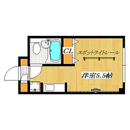東京都江戸川区南葛西3丁目の賃貸マンションの間取り