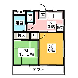 愛環梅坪駅 4.6万円