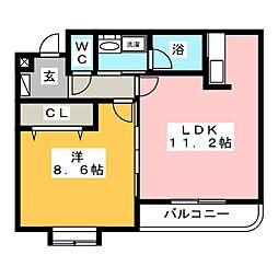 OPUS 512[1階]の間取り